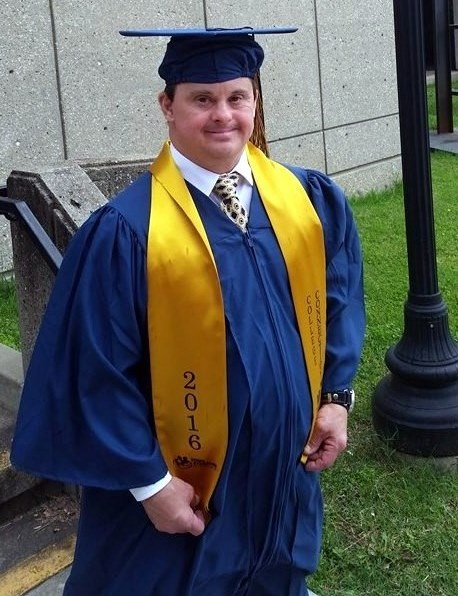 Mark Hublar on Graduation Day