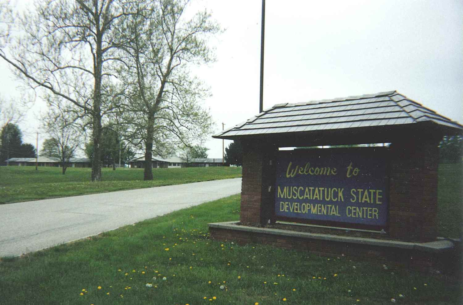 Muscatatuck State Developmental Center Entrance<br />