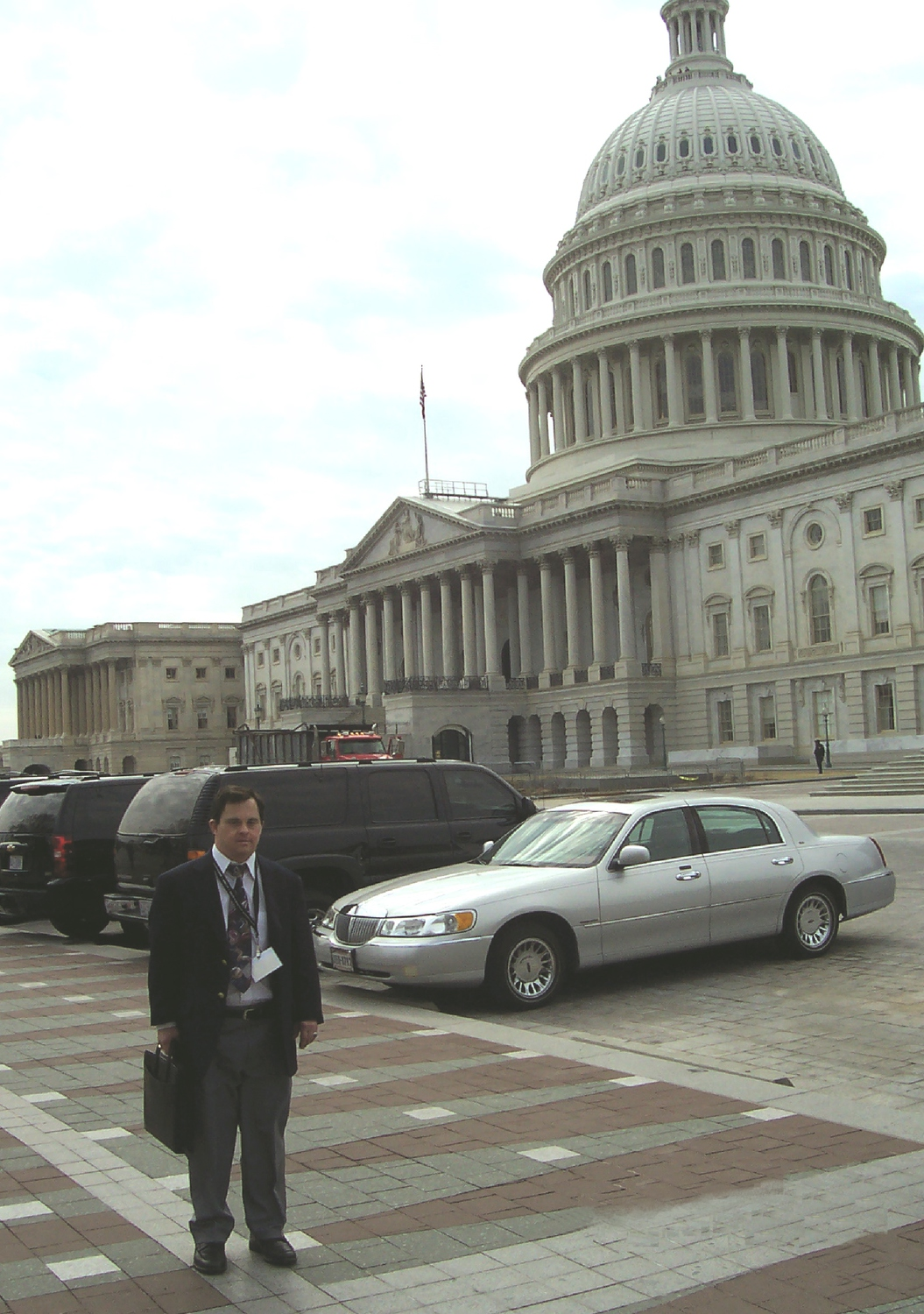 Mark Hublar in Washington, D.C.
