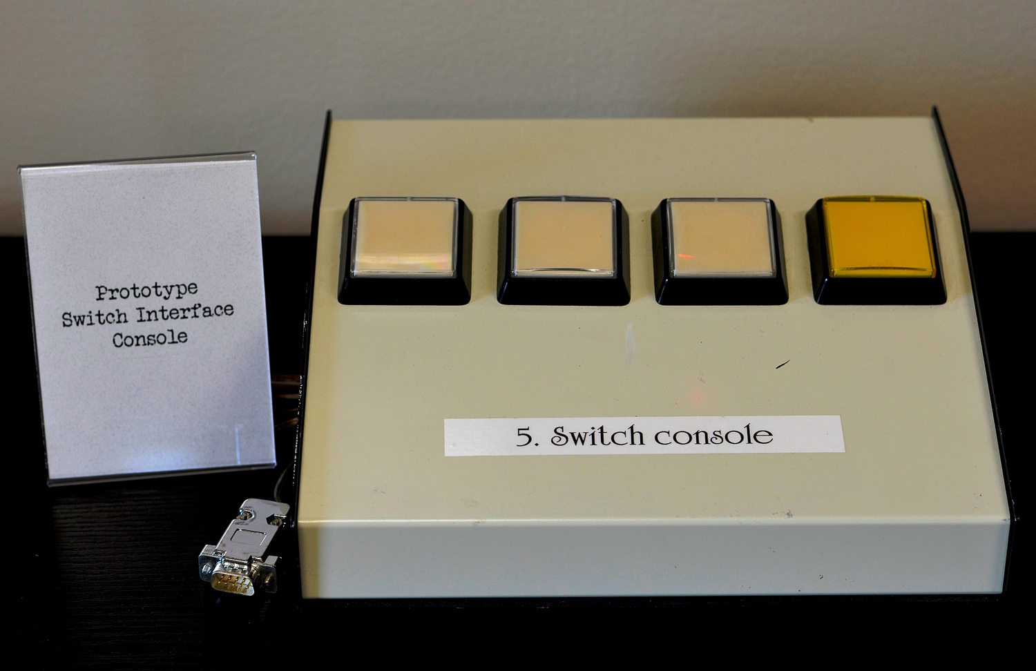 Prototype Switch Interface Console<br />