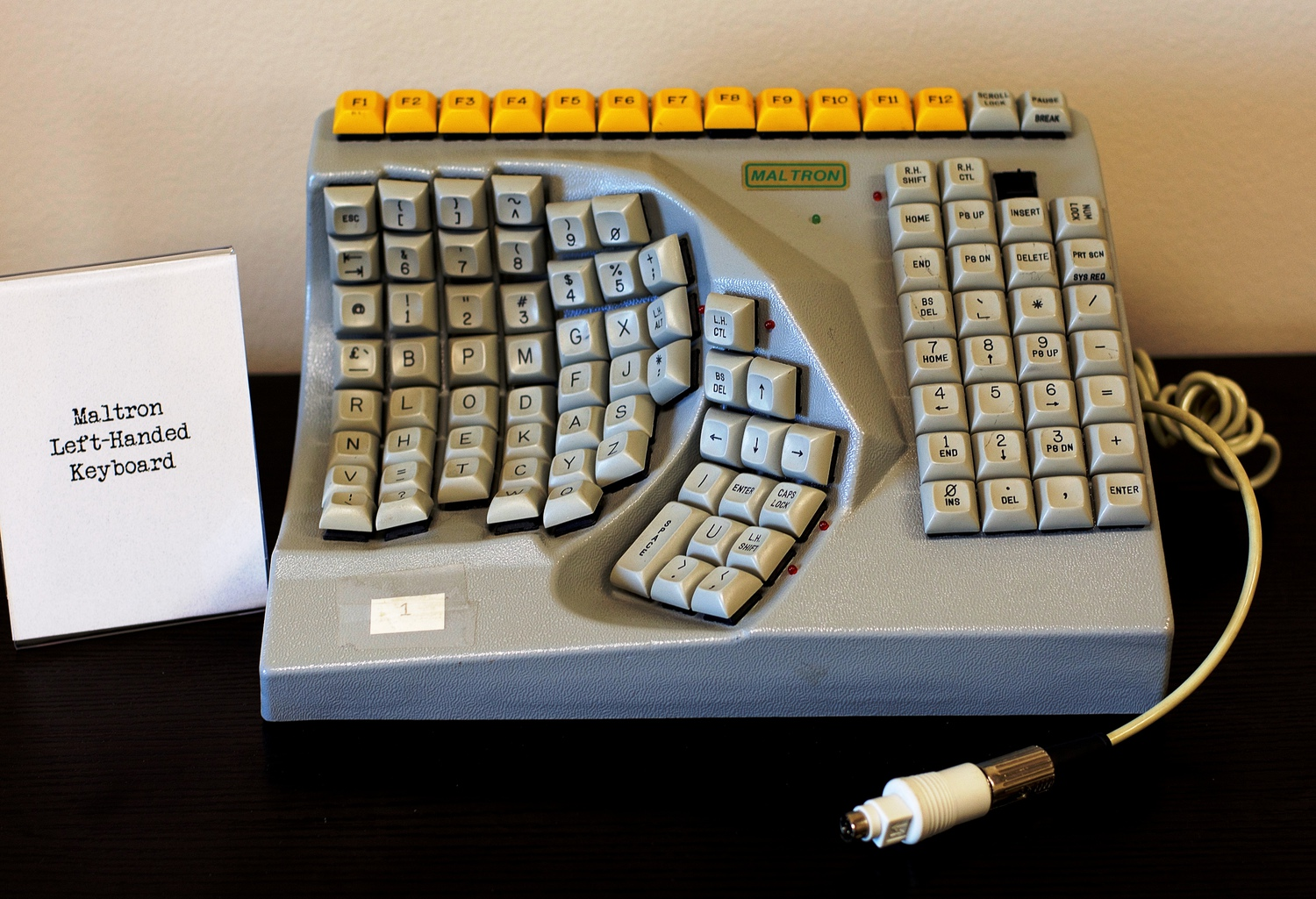 PCD Maltron Left-Handed Keyboard