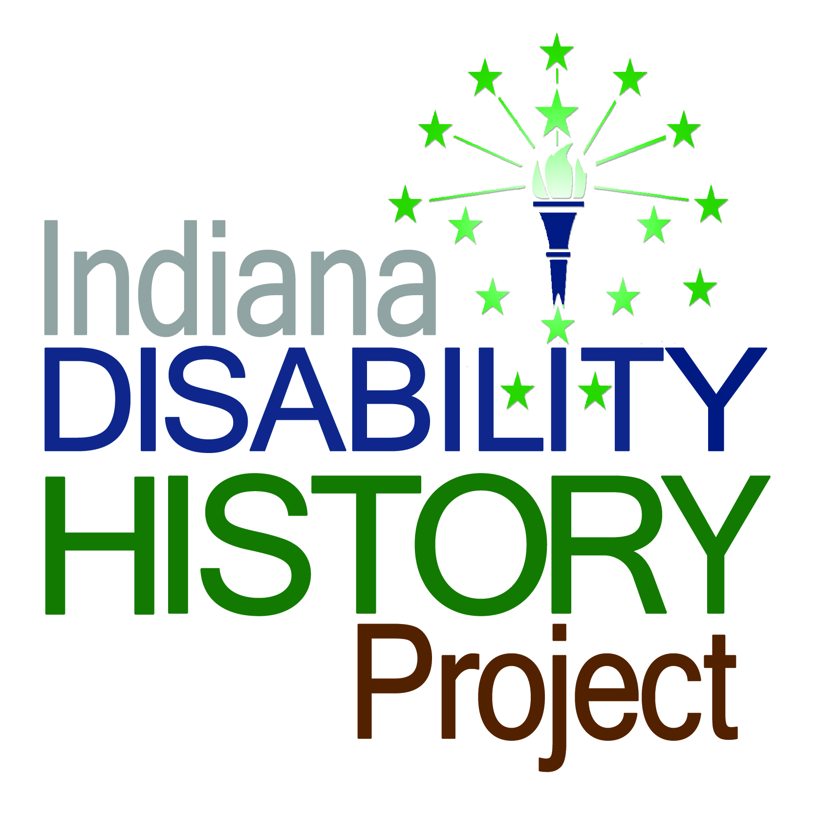 logo of the Indiana Disability History Project
