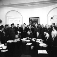John F. Kennedy Panel on Mental Retardation in 1962