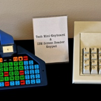 TASH Mini Keyboard and IBM Screen Reader Keypad<br /><br />