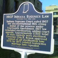 Indiana Eugenics Law Marker