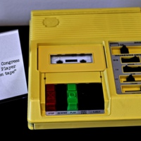 Library of Congress Cassette Book Machine